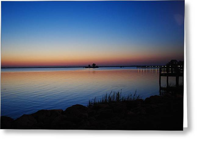 Greeting Card featuring the photograph Sebastian Sunrise by Laura DAddona
