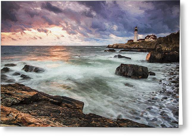 Second Day Begins II Greeting Card by Jon Glaser