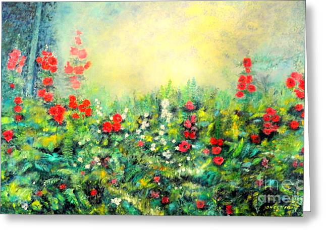 Secret Garden 2 - 150x90 Cm Greeting Card