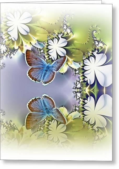 Secret Garden Greeting Card by Sharon Lisa Clarke