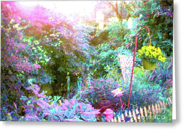 Greeting Card featuring the photograph Secret Garden by Susan Carella