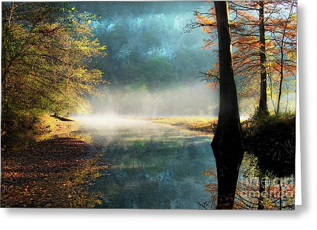 Secret Hideaway At Beavers Bend Greeting Card