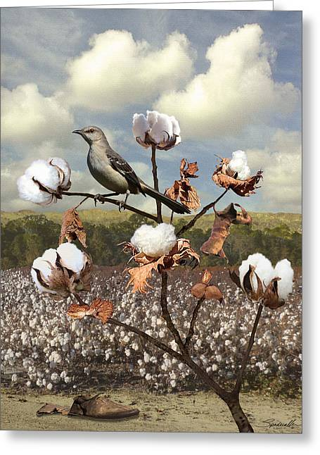 Secret Of The Mockingbird Greeting Card
