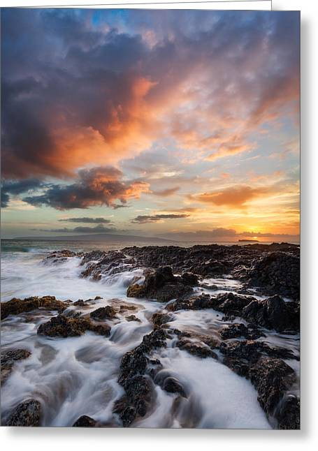 Secret Sunset Greeting Card by Thorsten Scheuermann