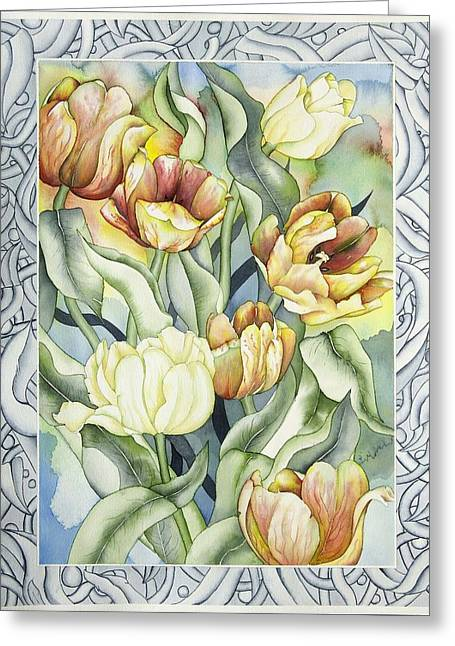 Secret World I Greeting Card by Liduine Bekman