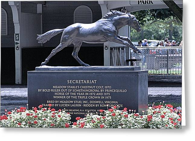 Secretariat Greeting Card