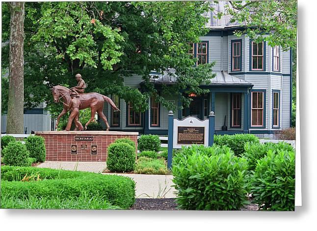 Secretariat Statue At The Kentucky Horse Park Greeting Card
