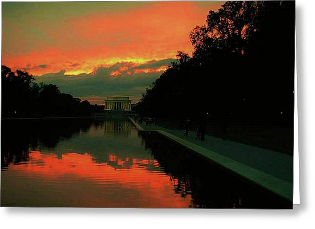 Secrets Of Dc Greeting Card
