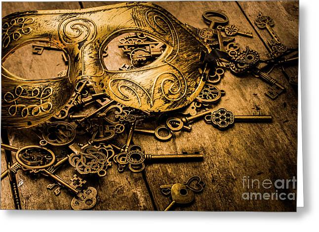 Secrets Of Rome Greeting Card by Jorgo Photography - Wall Art Gallery