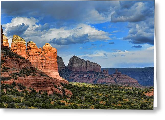 Sedona After The Storm Greeting Card by Dan Turner