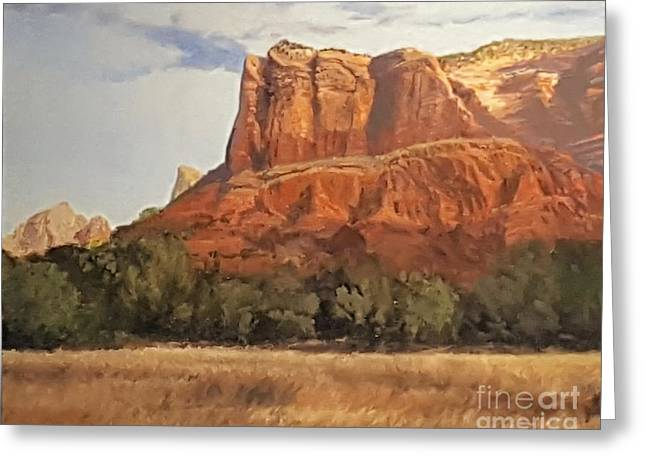 Sedona Afternoon In May Greeting Card