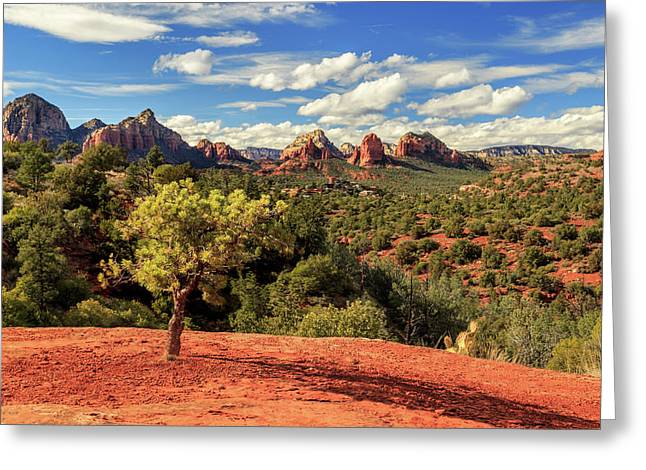 Greeting Card featuring the photograph Sedona Afternoon by James Eddy