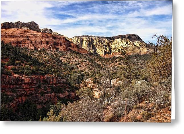 Sedona Arizona Viii Greeting Card by Jon Berghoff