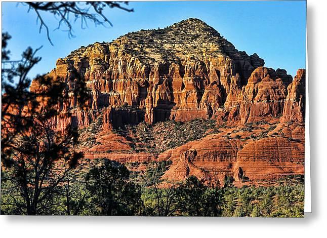 Sedona Arizona Xiii Greeting Card by Jon Berghoff