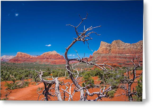 Sedona Blue Greeting Card