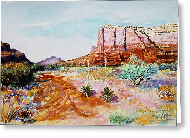 Sedona Bound Greeting Card