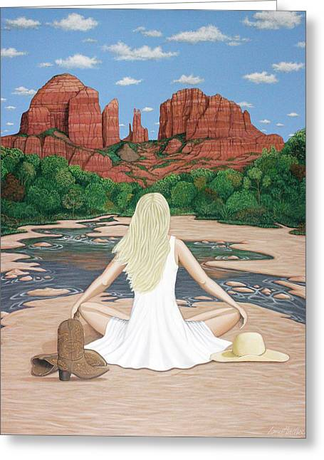 Sedona Breeze  Greeting Card