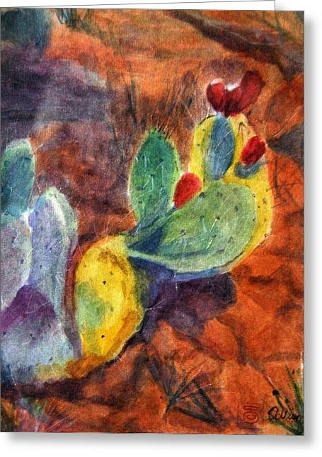 Sedona I Greeting Card by Stephanie Allison