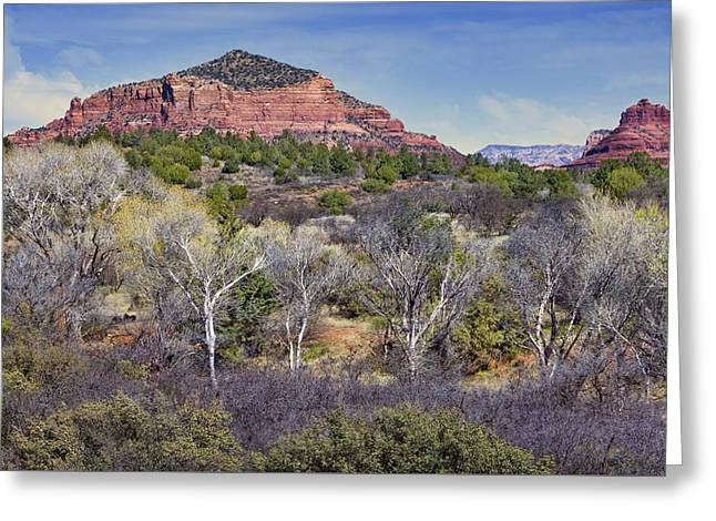 Sedona Landscape - 2 - Arizona Greeting Card