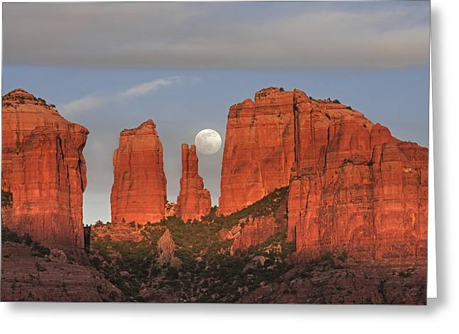 Sedona Moon Greeting Card