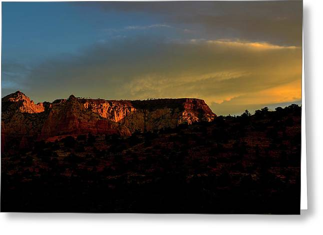 Sedona Morning Greeting Card