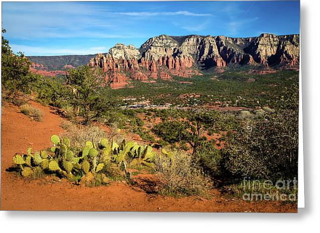 Sedona Morning Greeting Card by Jon Burch Photography
