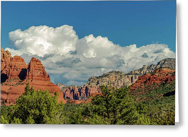 Sedona Panoramic II Greeting Card