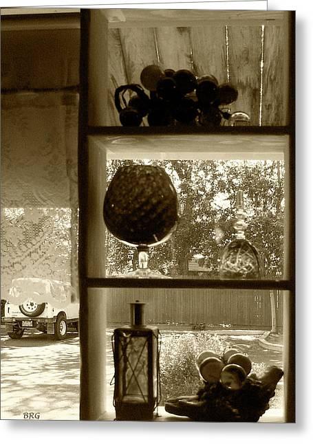 Sedona Series - Window Display Greeting Card by Ben and Raisa Gertsberg
