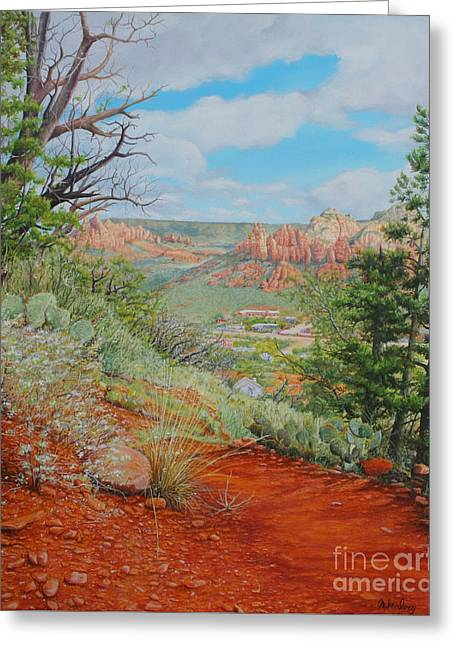 Sedona Trail Greeting Card