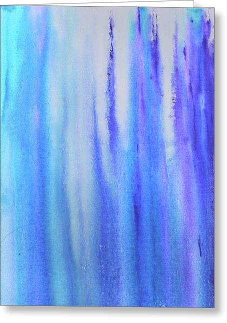 See Blue Sea Greeting Card by Cyrionna The Cyerial Artist
