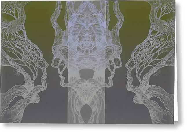 See Oneself Tree 11 Hybrid 3  Greeting Card