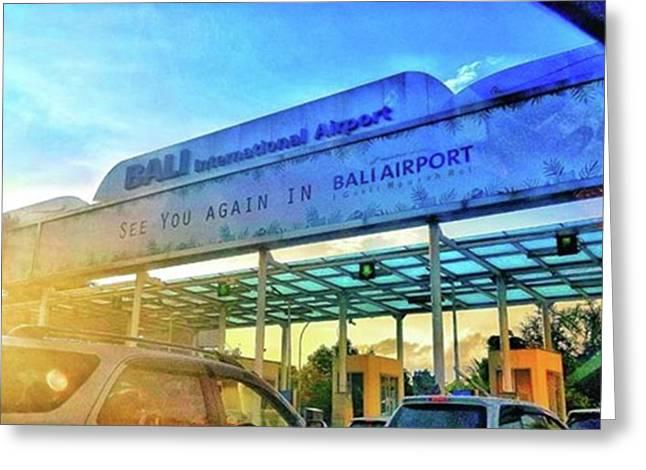See You Soon, Bali!! No Greeting Card