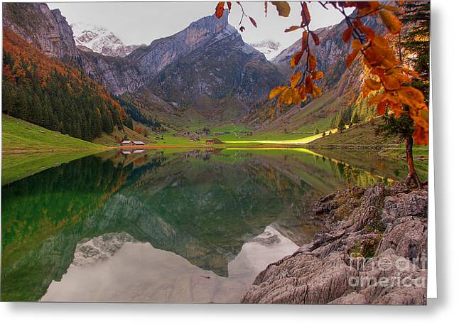 Seealpsee  Greeting Card