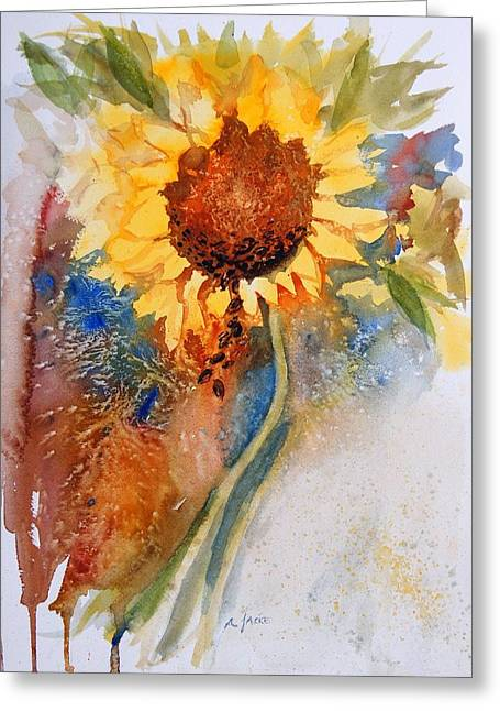 Seeds Of The Sun Greeting Card