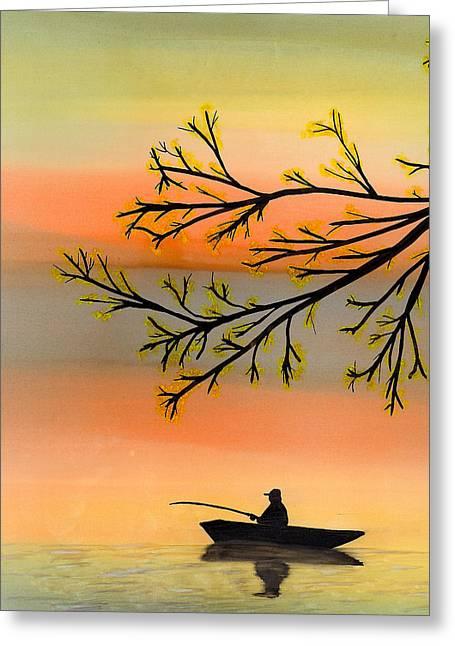 Seeking Solitude Greeting Card