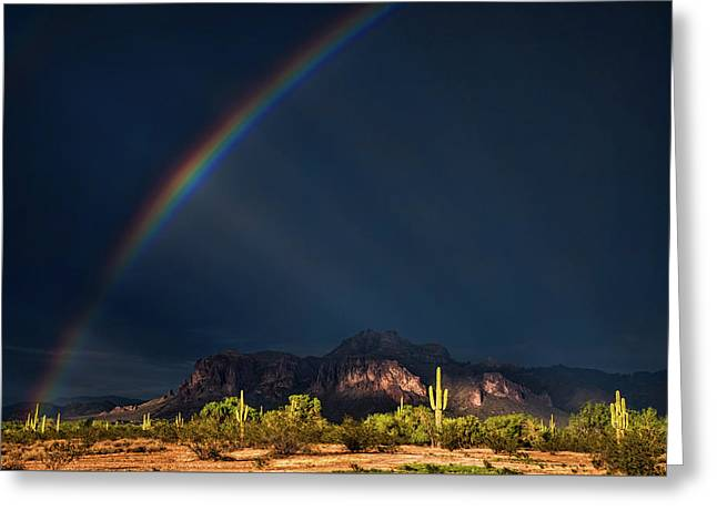 Greeting Card featuring the photograph Seeking That Pot Of Gold  by Saija Lehtonen