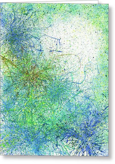 Seeking Truth On Gaia #418 Greeting Card by Rainbow Artist Orlando L aka Kevin Orlando Lau