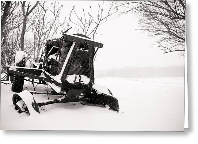 Seen Better Days Greeting Card by Edward Myers
