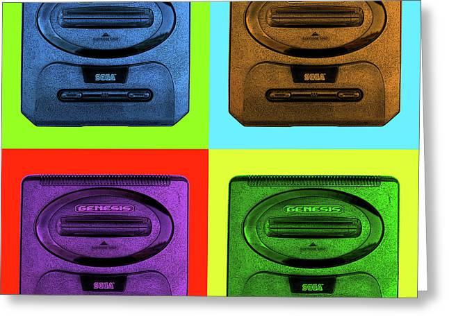 Sega Genesis Greeting Card