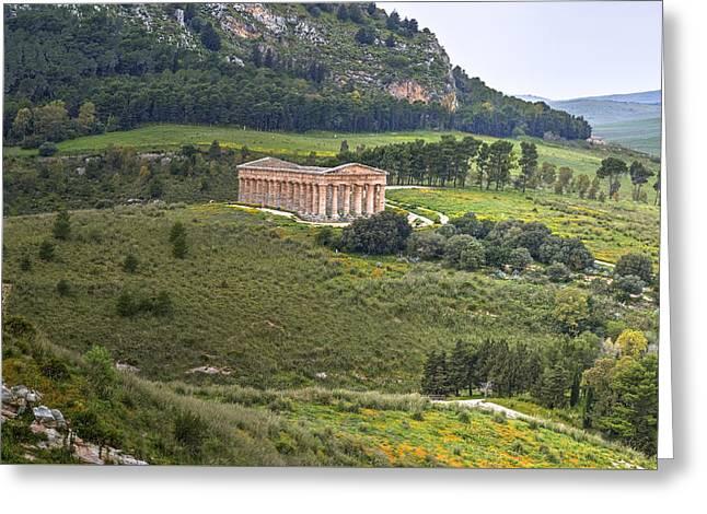 Segesta - Sicily Greeting Card