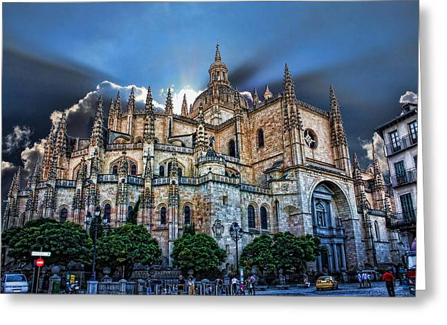Segovia Cathedral  Greeting Card