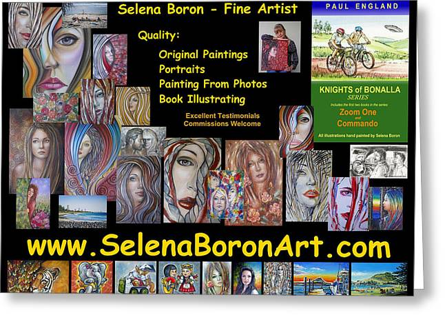 Selena Boron Photo Card 1 Greeting Card