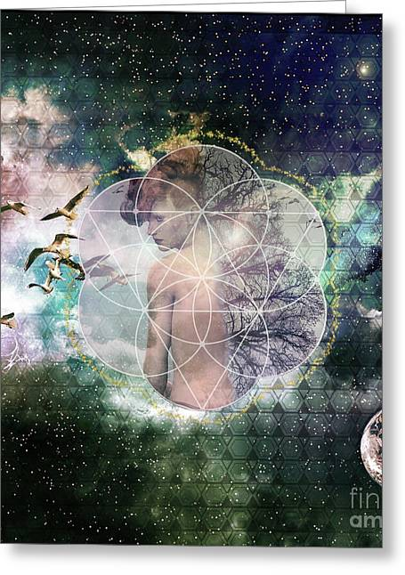 Self Discovery Metaphysical Enlightenment Greeting Card