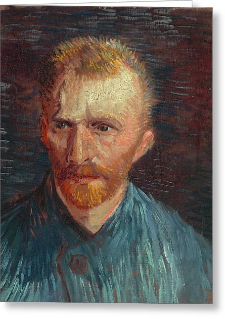 Self Portrait 1887 07 Greeting Card by Vincent Van Gogh