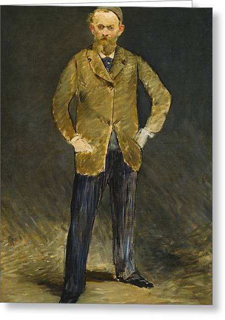 Self-portrait Greeting Card by Edouard Manet