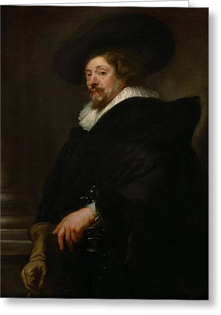 Self Portrait Greeting Card by Pieter Paul Rubens