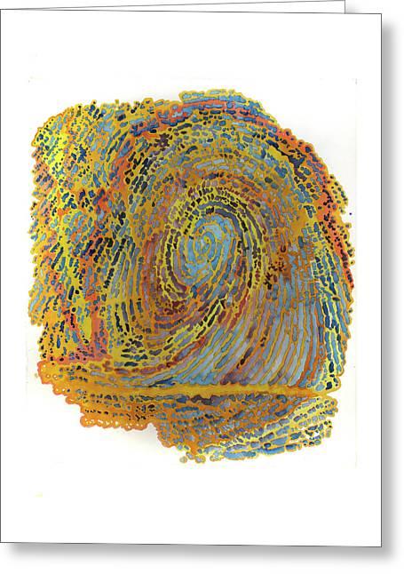 Self Portrait R1 Greeting Card