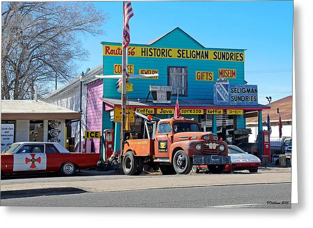 Seligman Sundries On Historic Route 66 Greeting Card