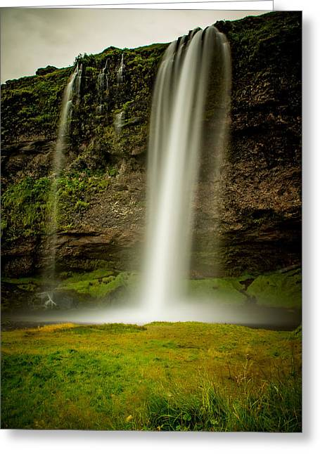 Seljalandsfoss Iceland Greeting Card by Mirra Photography