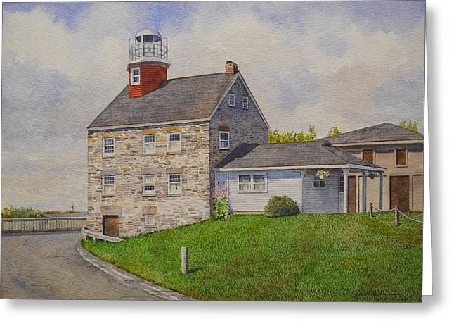 Selkirk Lighthouse Greeting Card
